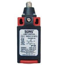 SND4112-SP-B SUNS: wyłącznik z wciskaną rolką