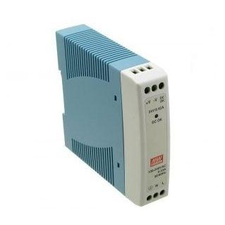 Zasilacz impulsowy 24VDC, 20W; 1A; MeanWell; MDR-20-24