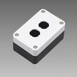 Pusta biała kaseta sterownicza z 2 otworami 22mm – BE02