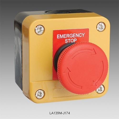 Kaseta sterownicza z przyciskiem przekręcanym: LA139A-J174
