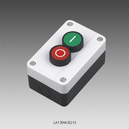 Kaseta sterownicza z 2 przyciskami I O :LA139M-B213