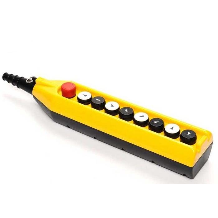 Kaseta sterownicza do suwnic, 8 przycisków + STOP, pojedyncza prędkość PV9E30B2222 EMAS