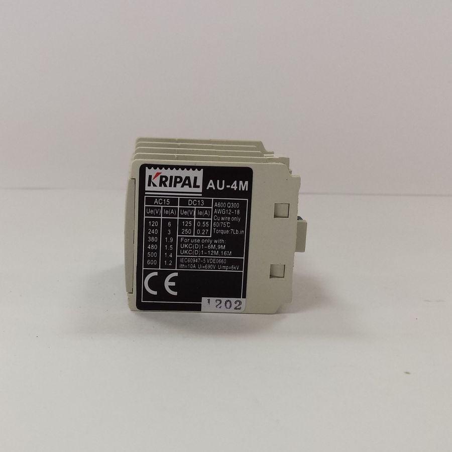 Styk pomocniczy 2NO+2NC do miniaturowych styczników UKC1 – AU-4M2NO2NC