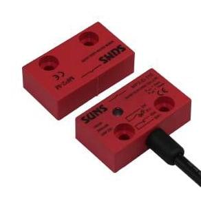 Magnetyczny wyłącznik bezpieczeństwa 2NC+1NO 100VAC/DC 400mA, MP2-D-12