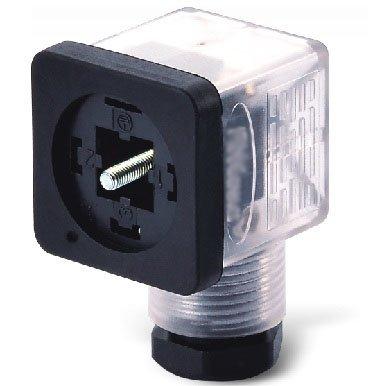 VCAFA0321 złącze zaworowe 2+PE, PG7 z sygnalizacją LED 24V, rozstaw 18mm
