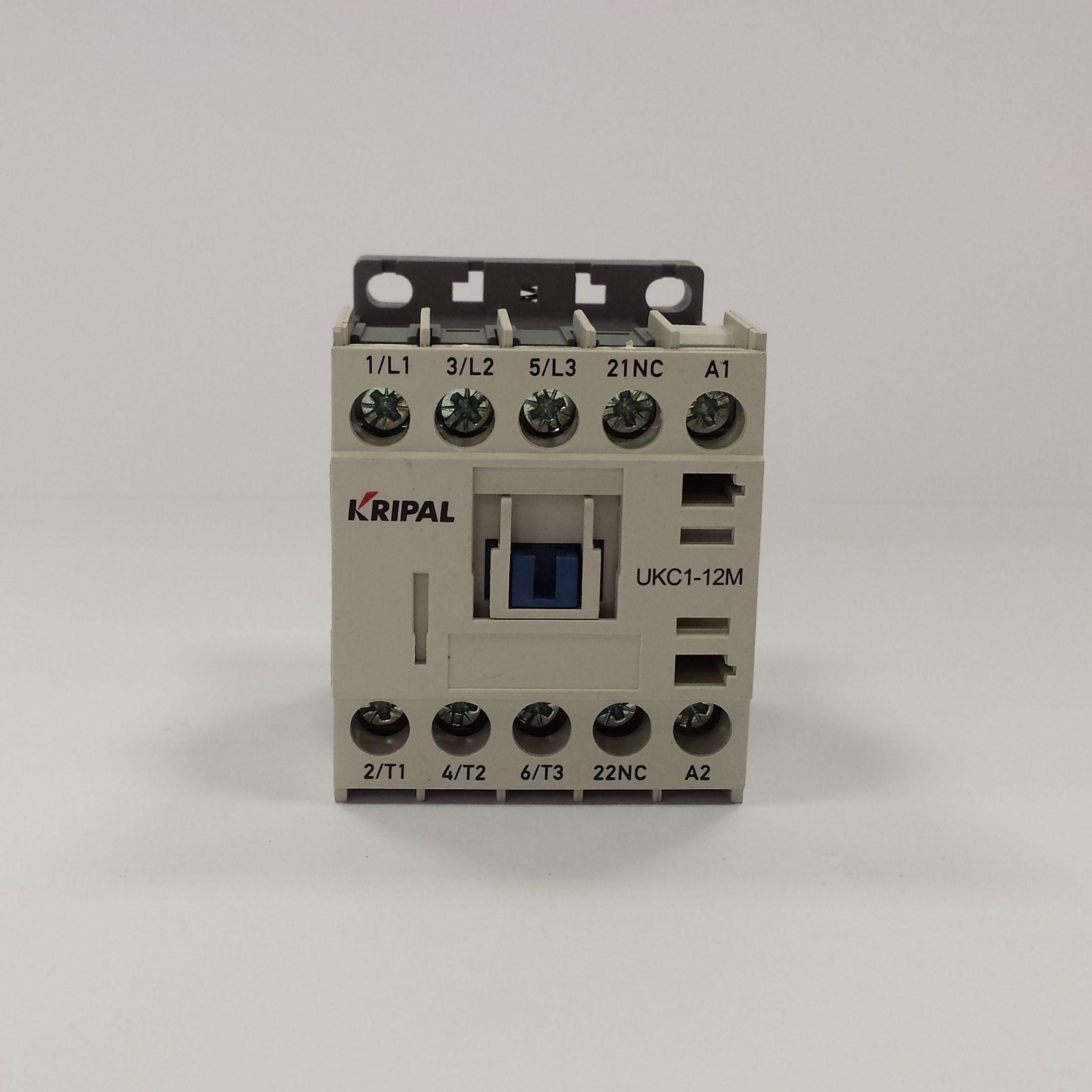 Stycznik miniaturowy 5,5kW 12A cewka 110V AC Styk NO/NC – UKC1-12M-110
