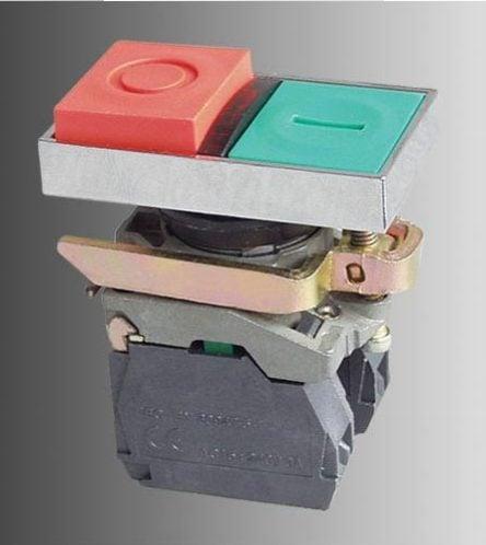Przycisk dwuklawiszowy I/O z auto-powrotem i lampką LED – BW846