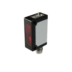 Czujnik odbiciowy z eliminacją wpływu tła BGS miniaturowy, Sn=35cm, konektor M8 PSC-YC35TNBR-E1, NPN, NO, NC, 12-24V DC