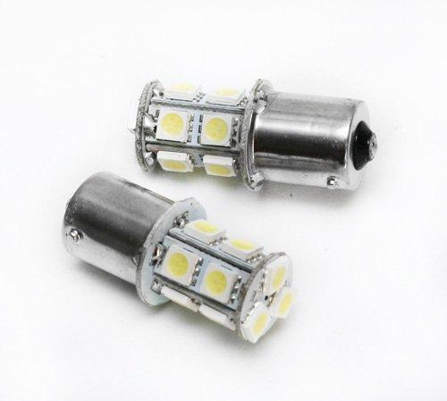 Żarówka LED BA15S do kolumn, światło ciągłe, 24V, 13 diod LED – Super jasnych