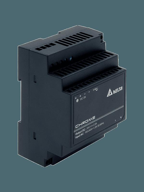 Zasilacz impulsowy 24VDC, 60W; 2.5A; Delta – 5lat gwar., DRC-24V60W1AZ
