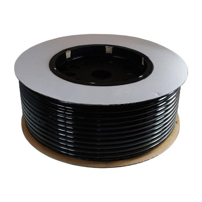 Przewód pneumatyczny poliuretanowy kalibrowany Φ8 Czarny PU 8mm x 5mm; [1m]