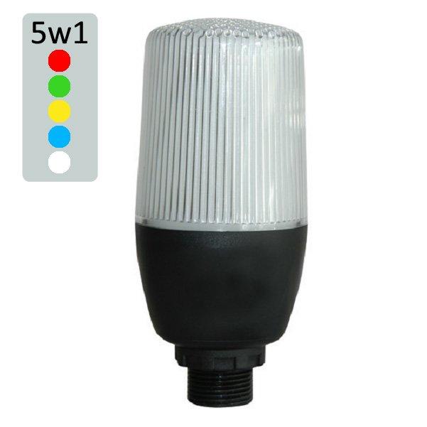 Multi-kolorowa kolumna/lampa LED – 5 kolorów w 1 module! – IF05X