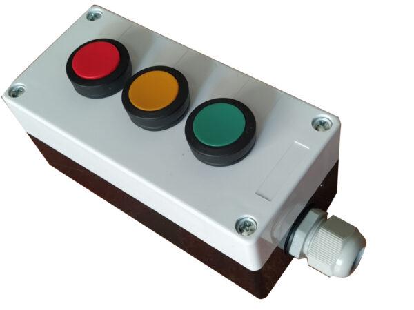 kaseta z przyciskami RGY