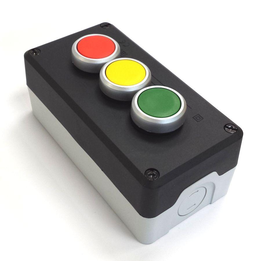 P3PSNO Kaseta czarna 3przyciskowa do załączania kolorów w kolumnach