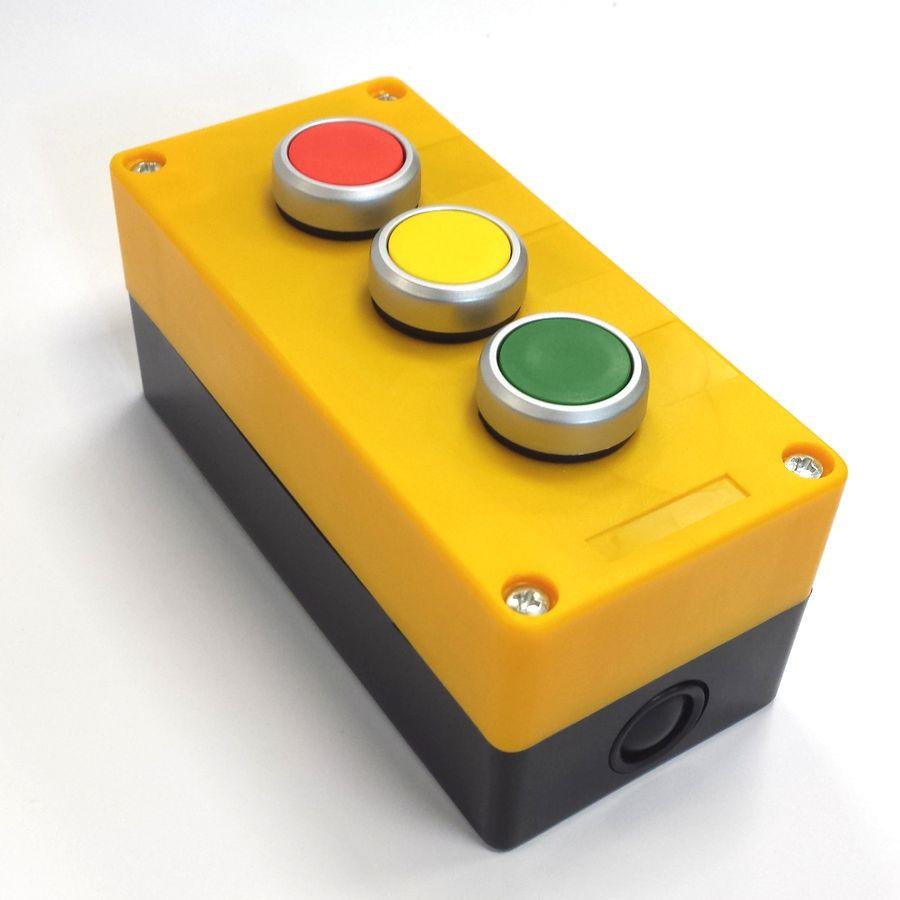 BX3PSNO Kaseta żółta 3przyciskowa do załączania kolorów w kolumnach