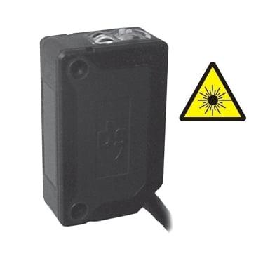 S3Z-PH-2-M01-NN Datalogic – Czujnik laserowy odbiciowy z eliminacją wpływu tła BGS miniaturowy, NPN, Sn=30cm, kabel 2m
