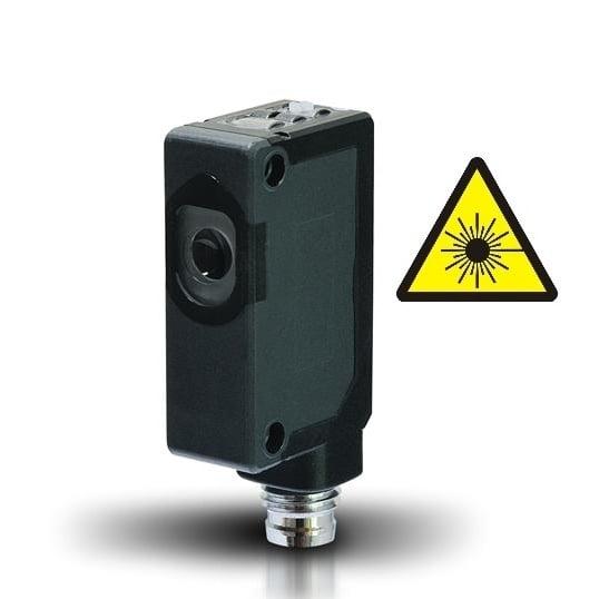 S3Z-PH-5-M01-N Datalogic – Czujnik laserowy odbiciowy z eliminacją wpływu tła BGS miniaturowy, NPN, NO+NC, Sn=30cm, konektor M8 S3Z-PH-5-M01-NN
