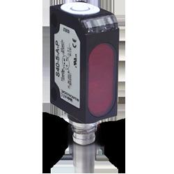 S40-PR-5-M03-PH DATALOGIC – czujnik odbiciowy z eliminacją wpływu tła BGS, zasięg do 10cm, PNP, NO/NC, konektor M8/4pin