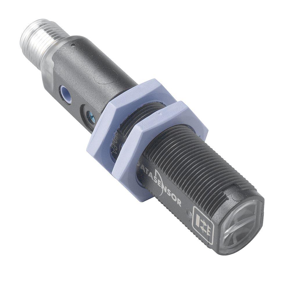 S50-PL-5-B01-PP S5N-PL-5-B01-PP Datalogic – czujnik laserowy, refleksyjny z polaryzacją, M18, Sn=16m, PNP, NO+NC, konektor M12