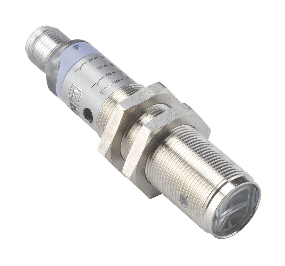 S50-ML-5-B01-PP S5N-ML-5-B01-PP Datalogic – czujnik laserowy, refleksyjny z polaryzacją, Sn=16m, PNP, NO/NC, metalowy, konektor M12
