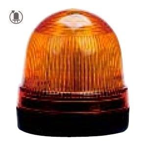 Sygnalizator LED 70mm – żółty, światło obrotowe, S70AR