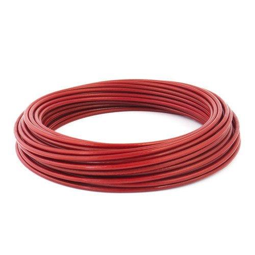 Linka stalowa 5mm czerwona