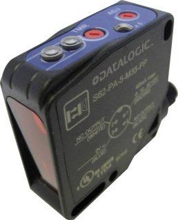 S62-PL-5-B01-NN – czujnik laserowy, refleksyjny z polaryzacją, Sn=20m, NPN, złącze M12/4p