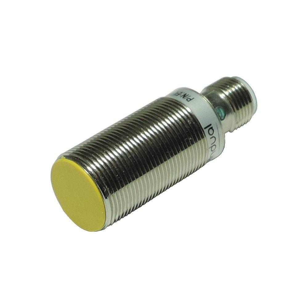 EL18F12PO-H(48) – czujnik indukcyjny M18, Sn=12mm, PNP NO, konektor M12, długość 48mm, Indual EcoLine