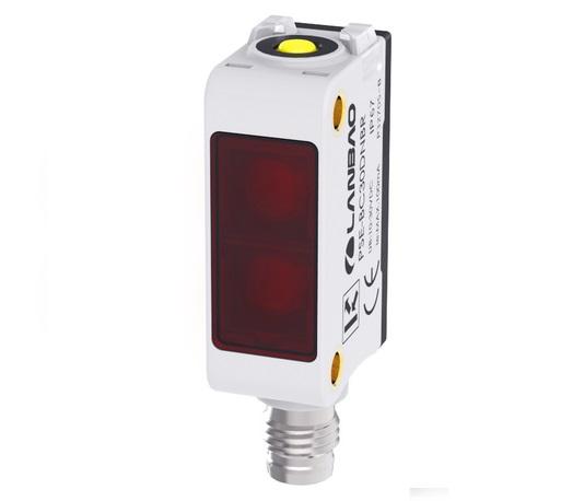 PSE-PM3DPBR-E3 czujnik refleksyjny z filtrem polaryzacyjnym, PNP, NO, NC, konektor M8