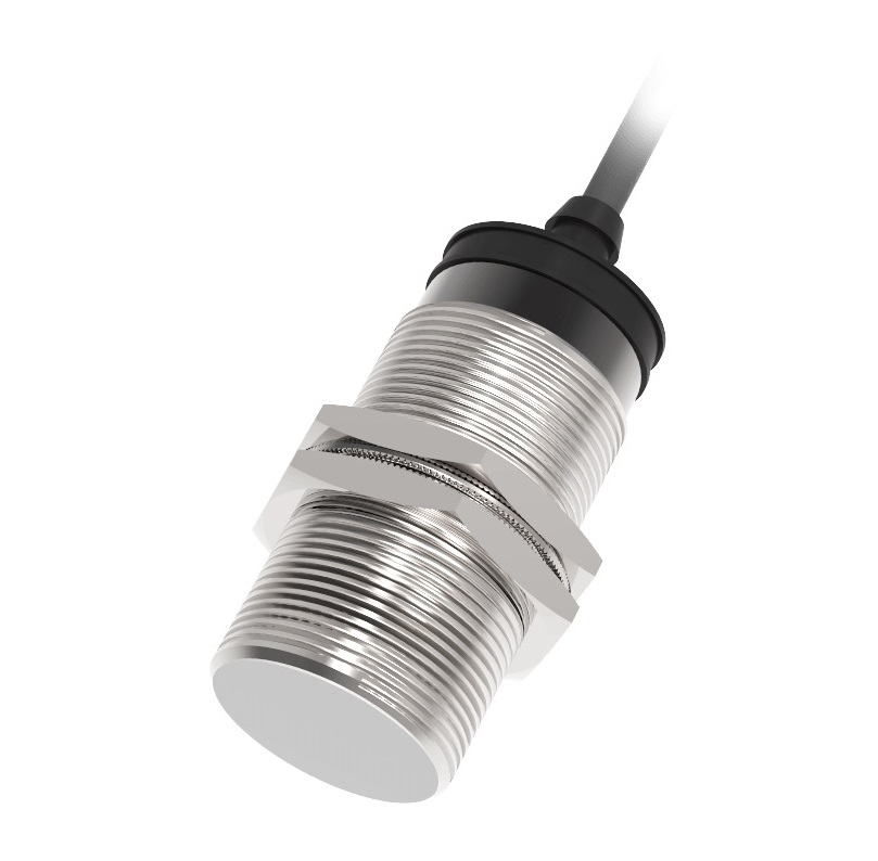 CR30CF10DPR – czujnik pojemnościowy, Lanbao, Sn=10mm, 10-30V DC, PNP, NO+NC, przewód 2m