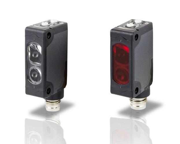 S41-5-F-P Datalogic – czujnik optyczny, bariera, odbiornik, zasięg do 6m, PNP, NO/NC, konektor M8/4pin