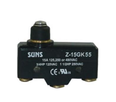 Wyłącznik krańcowy, mikrowyłącznik Z-15GK55 Z15GK55 SUNS