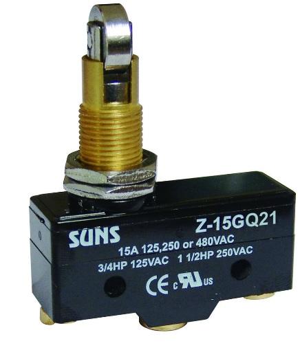Wyłącznik krańcowy, mikrowyłącznik Z-15GQ21 Z15GQ21 SUNS