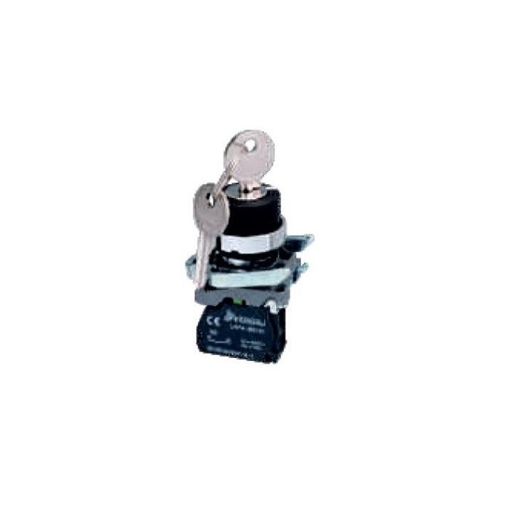 LAY4-BG41 Przełącznik kluczykowy (stacyjka) 2-poz. z autopowrotem