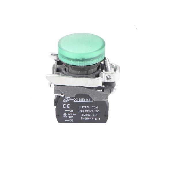 LAY4-BV63 – lampka, kontrolka sygnalizacyjna LED 24V, ZIELONA, LAY4 BV63