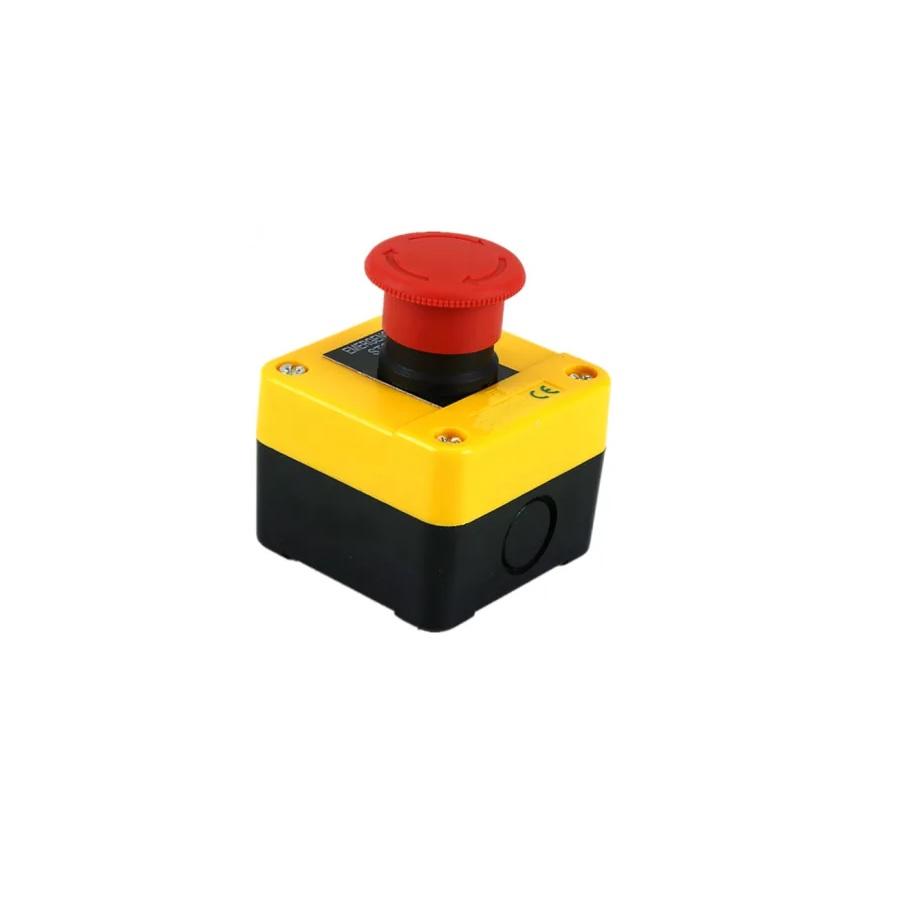 XDL55-J174H29 – Kaseta żółta z wyłącznikiem bezpieczeństwa (grzybek)