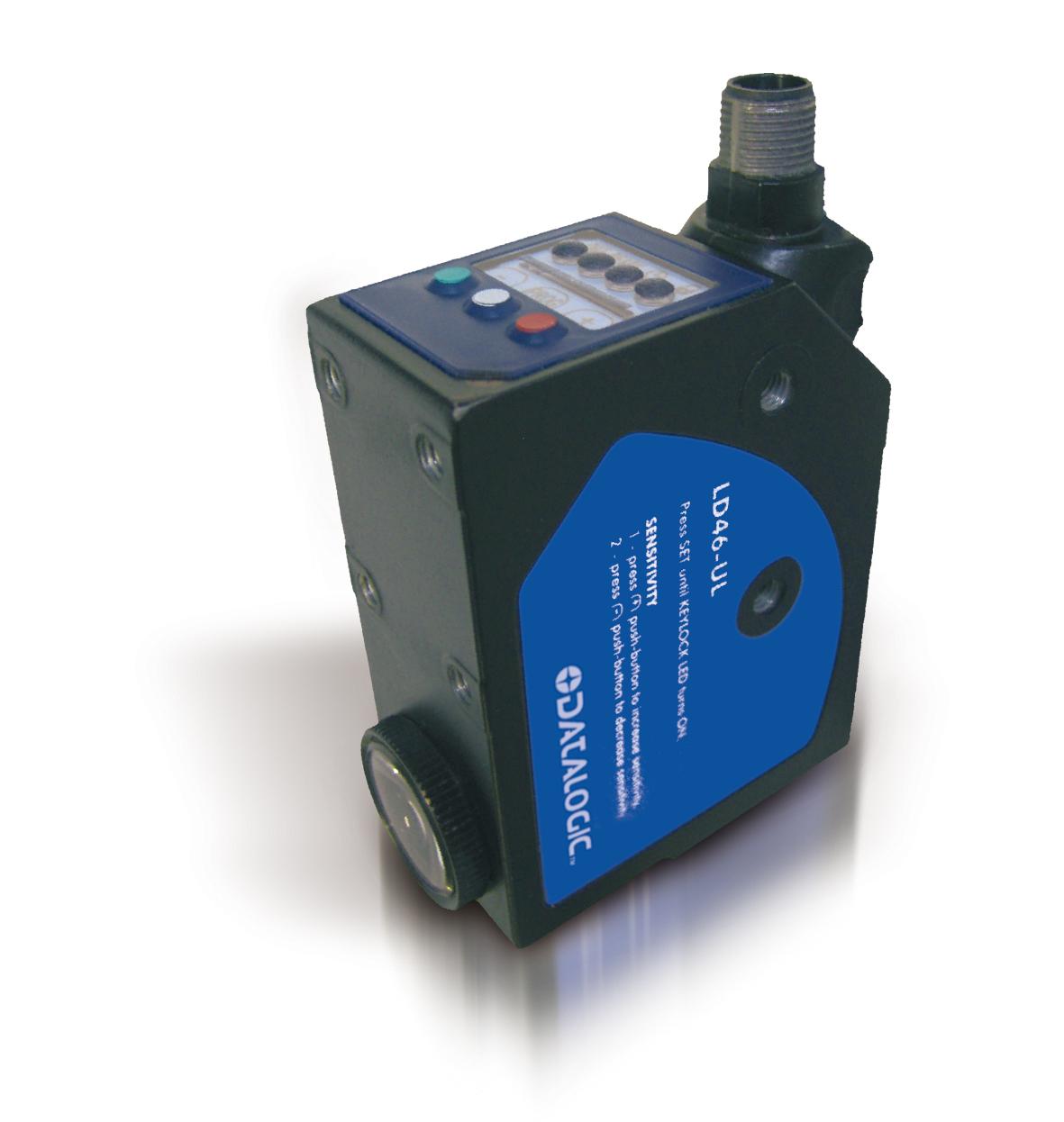 DATALOGIC LD46-UL-755, zasięg 20-40mm, PNP/NPN, konektor M12 – czujnik luminescencji