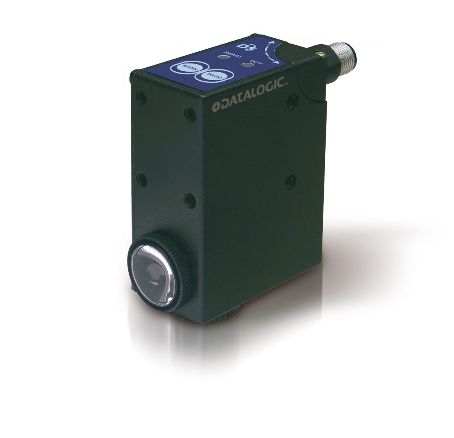 DATALOGIC TLu-015 zasięg 6-12mm, NPN, konektor M12/4pin, 10-30V – czujnik kontrastu