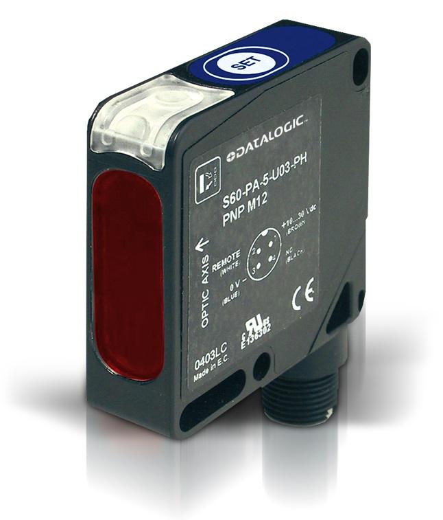 DATALOGIC – czujniki z serii S60