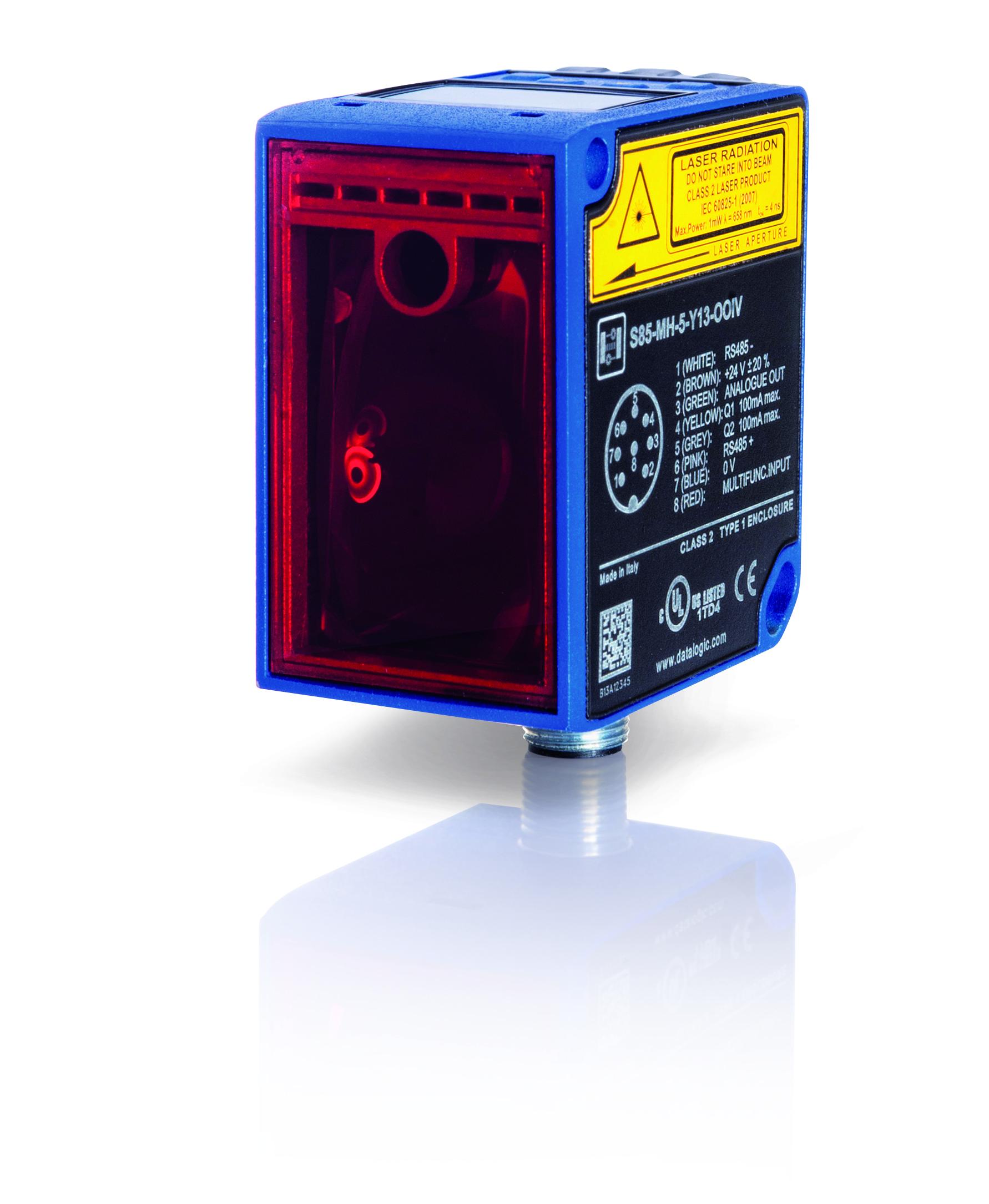 DATALOGIC – czujniki odległości, dalmierze laserowe z serii S85