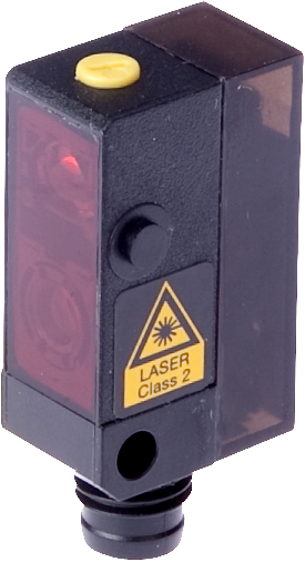 IPF Electronic – czujnik laserowy, odbiciowy, Sn=22-130mm, PNP, NO/NC, 11-30V DC, M8/4pin, PT140470