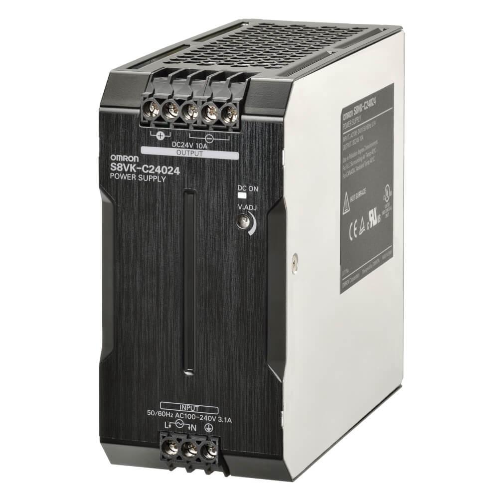 Zasilacz impulsowy 24VDC, 240W; 10A; DIN – S8VK-C24024 OMRON